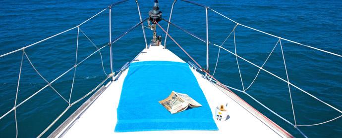 Прогулка на яхте из Ираклиона