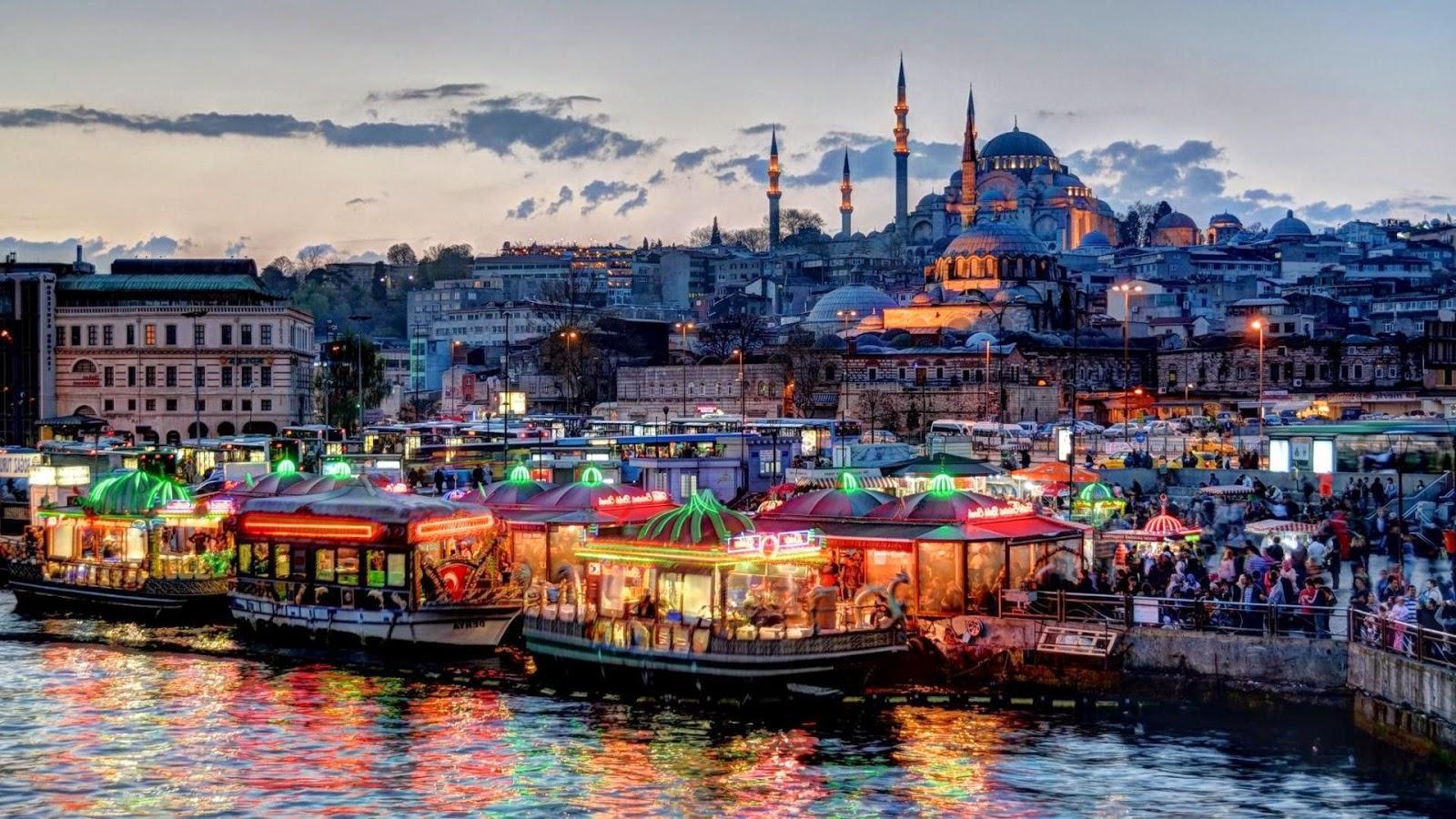 Экскурсия в Стамбул (1 или 2 дня, завтраки и обеды)