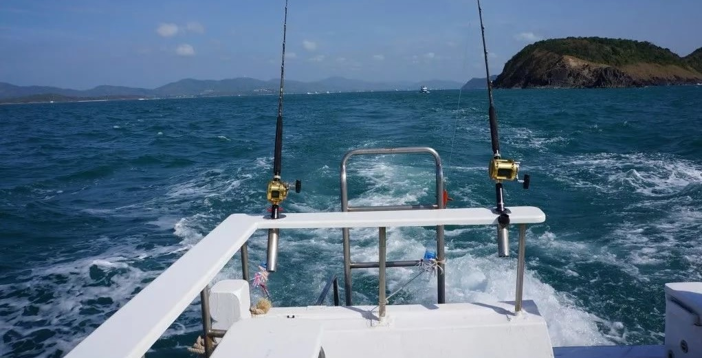 Морская рыбалка в Као Лаке