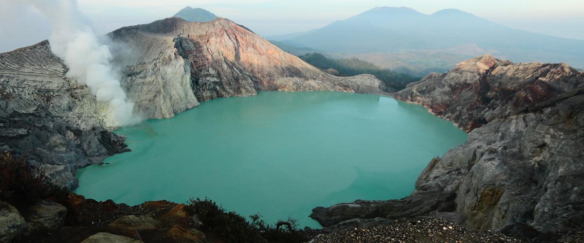 Восхождение на вулкан Иджен