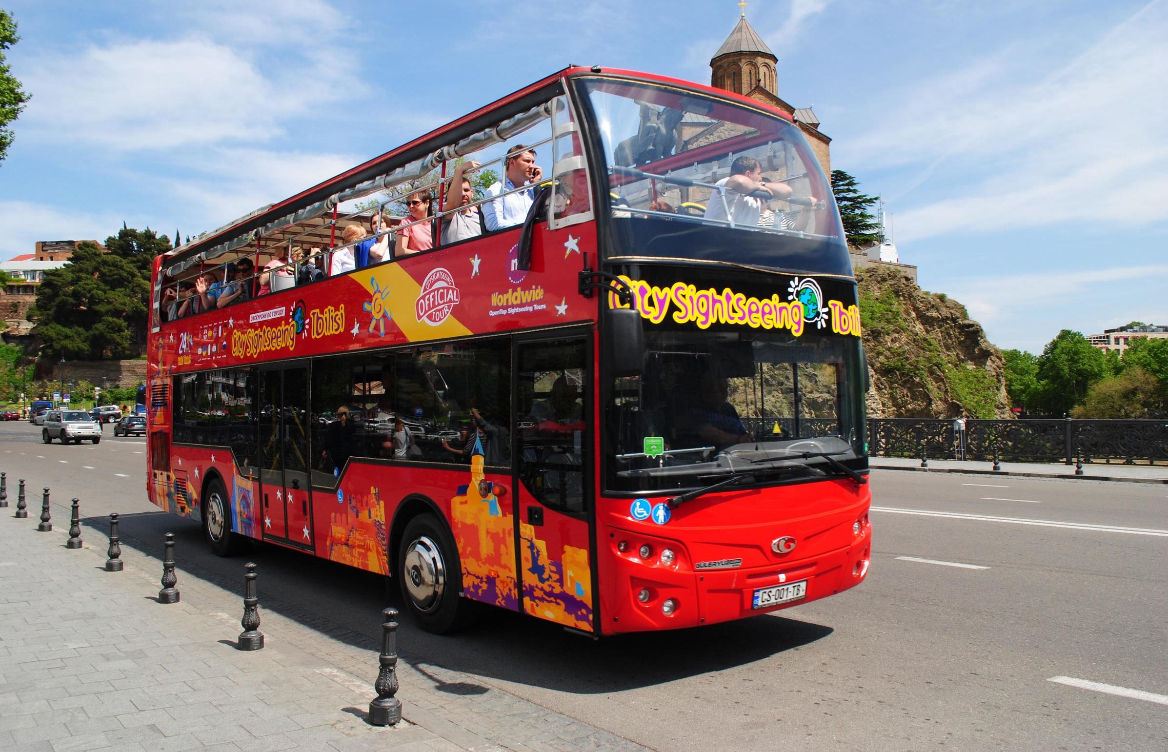 Экскурсия по Тбилиси на двухэтажном автобусе