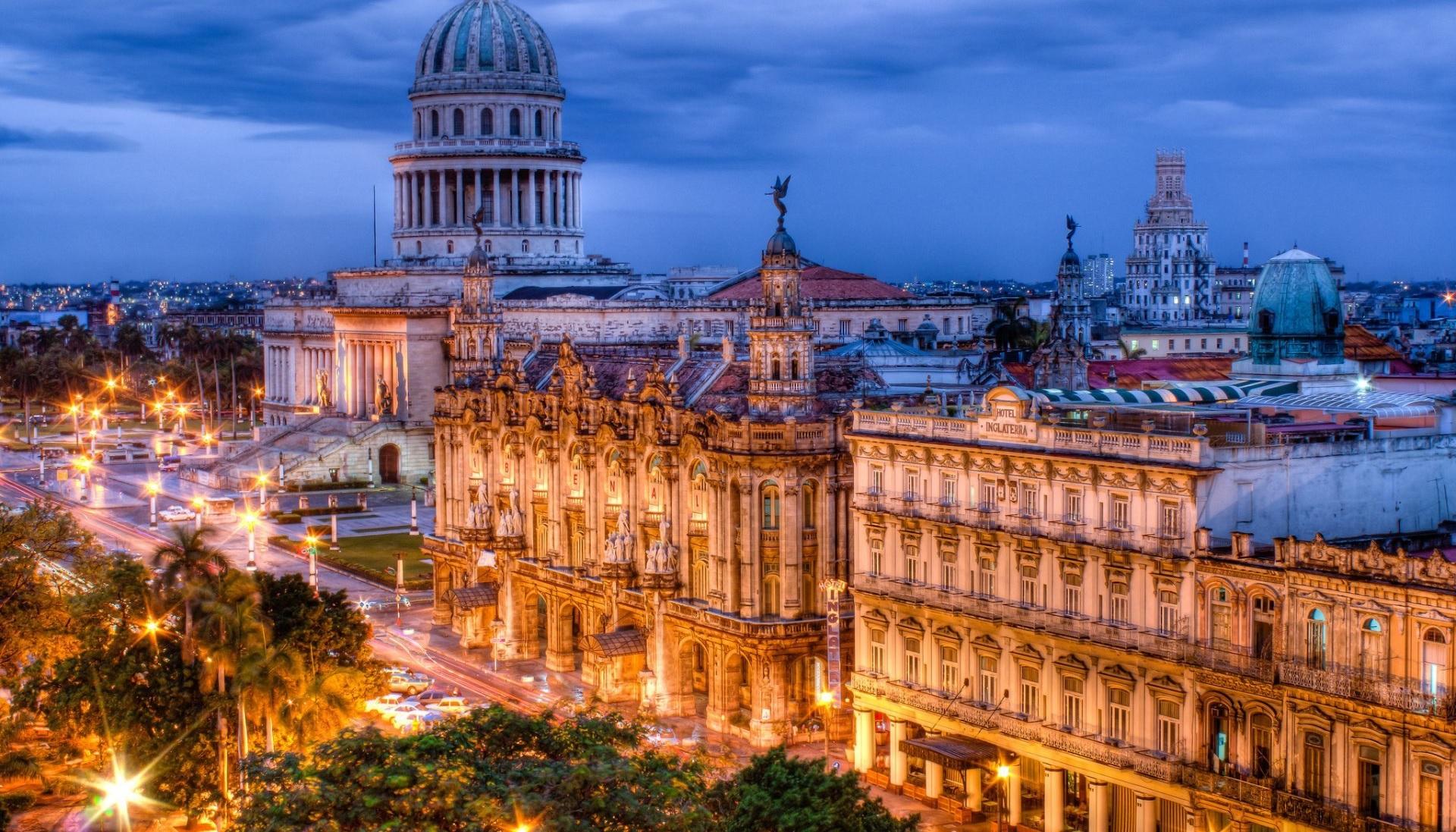 Вечерняя Гавана и церемониал пушечного выстрела