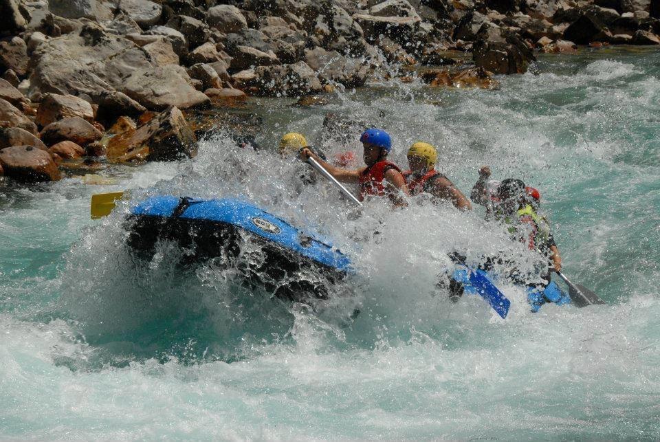 Рафтинг по реке Тара