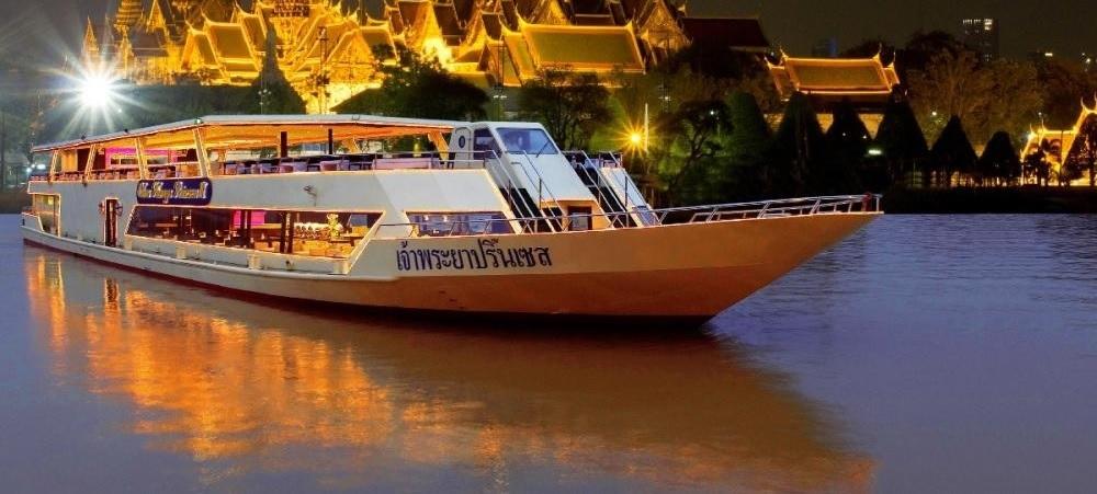 Вечерний круиз по реке Чао Прайя