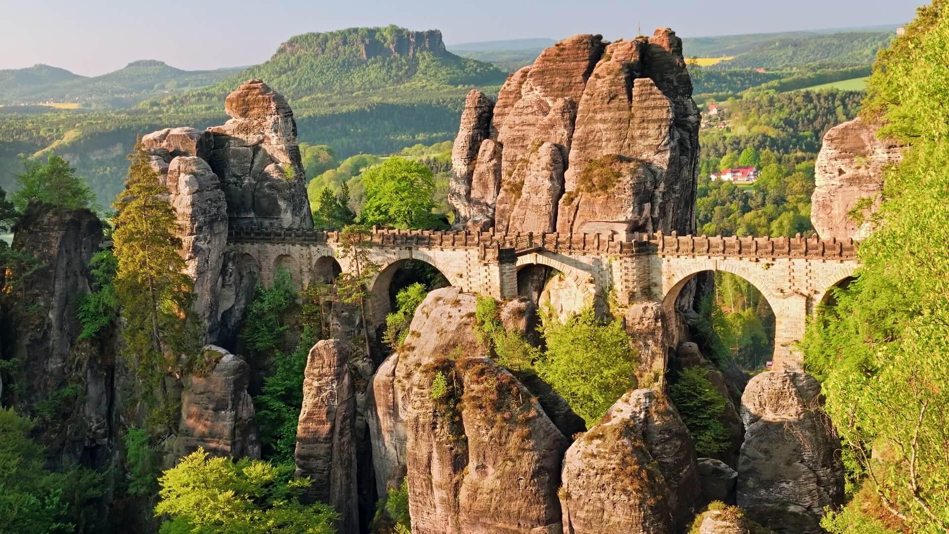 Саксонская Швейцария и Крепость Кенигштайн