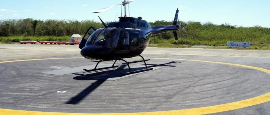 Полет на вертолете над Канкуном