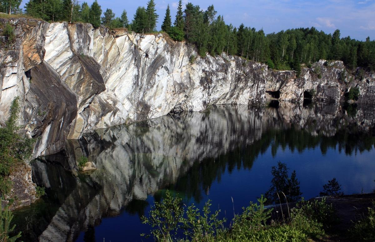 Горный парк Рускеала из Петрозаводска