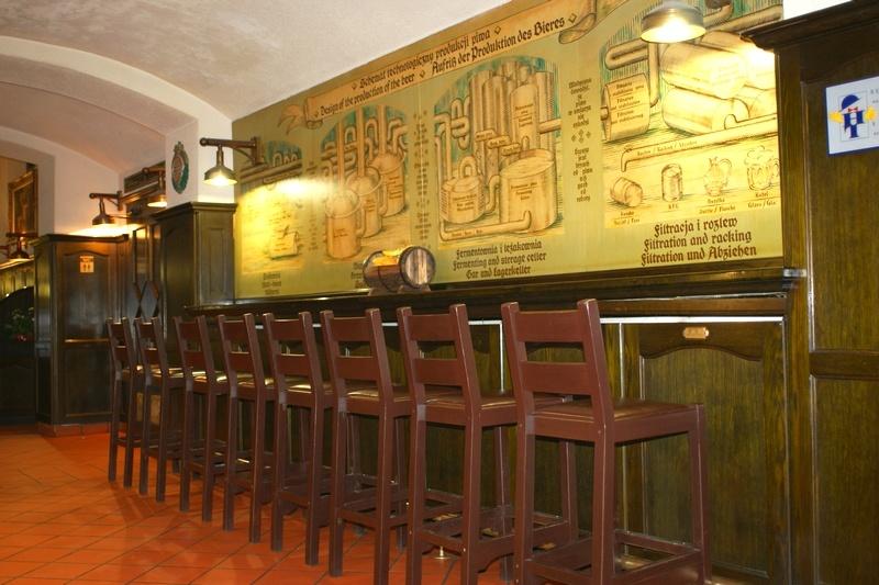 Ужин с дегустацией пива в ресторане Mini - Browar Spiż