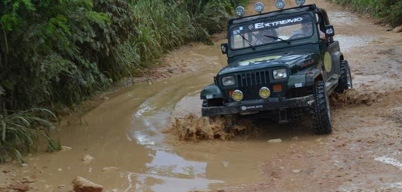 Супер джип сафари в Доминикане на Jeep Wrangler