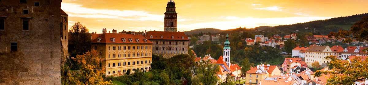 Чешский Крумлов и замок Глубока (групповая)