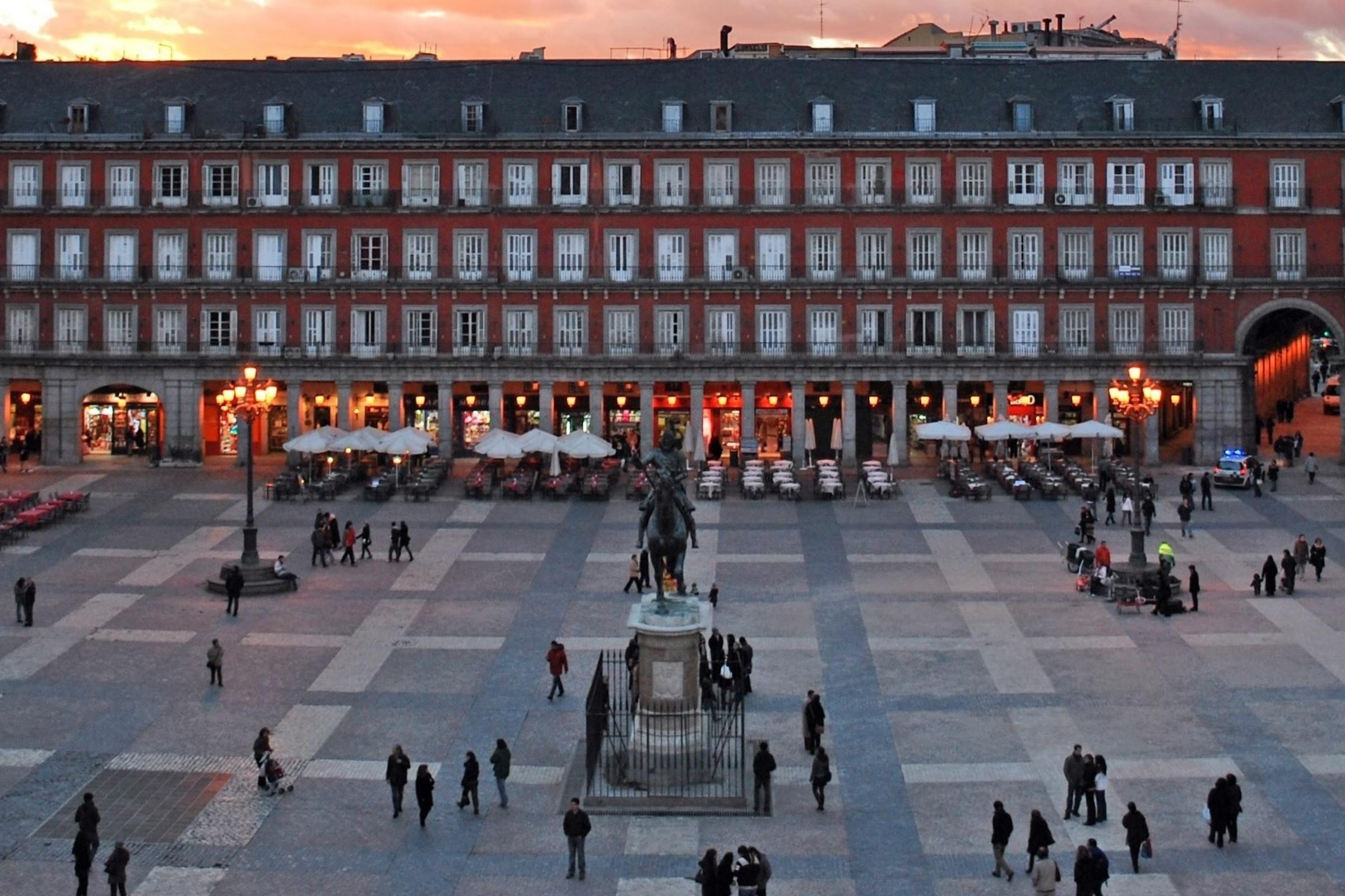 Групповая пешеходная экскурсия по Мадриду