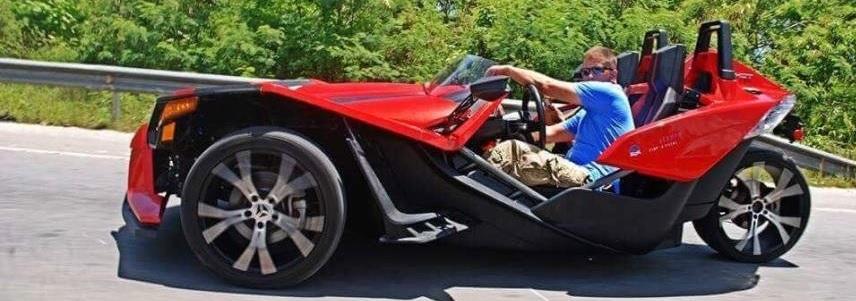 Поездка на спорткаре Slingshot