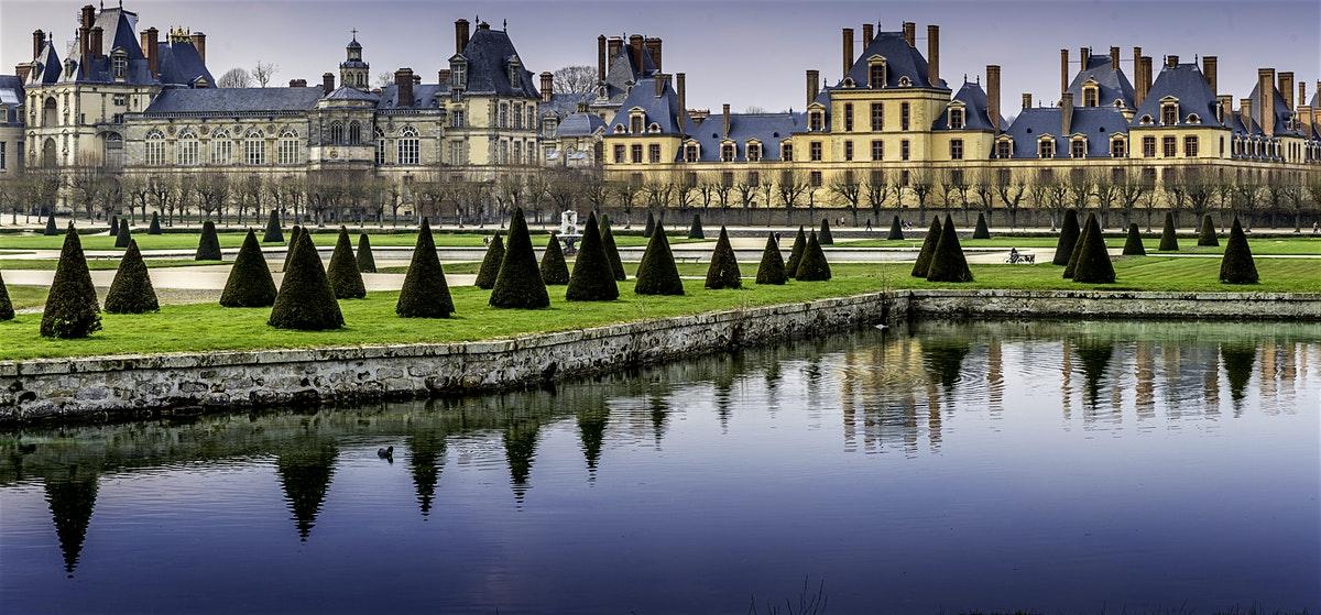 Дворец Фонтенбло и дворец Во-ле-Виконт