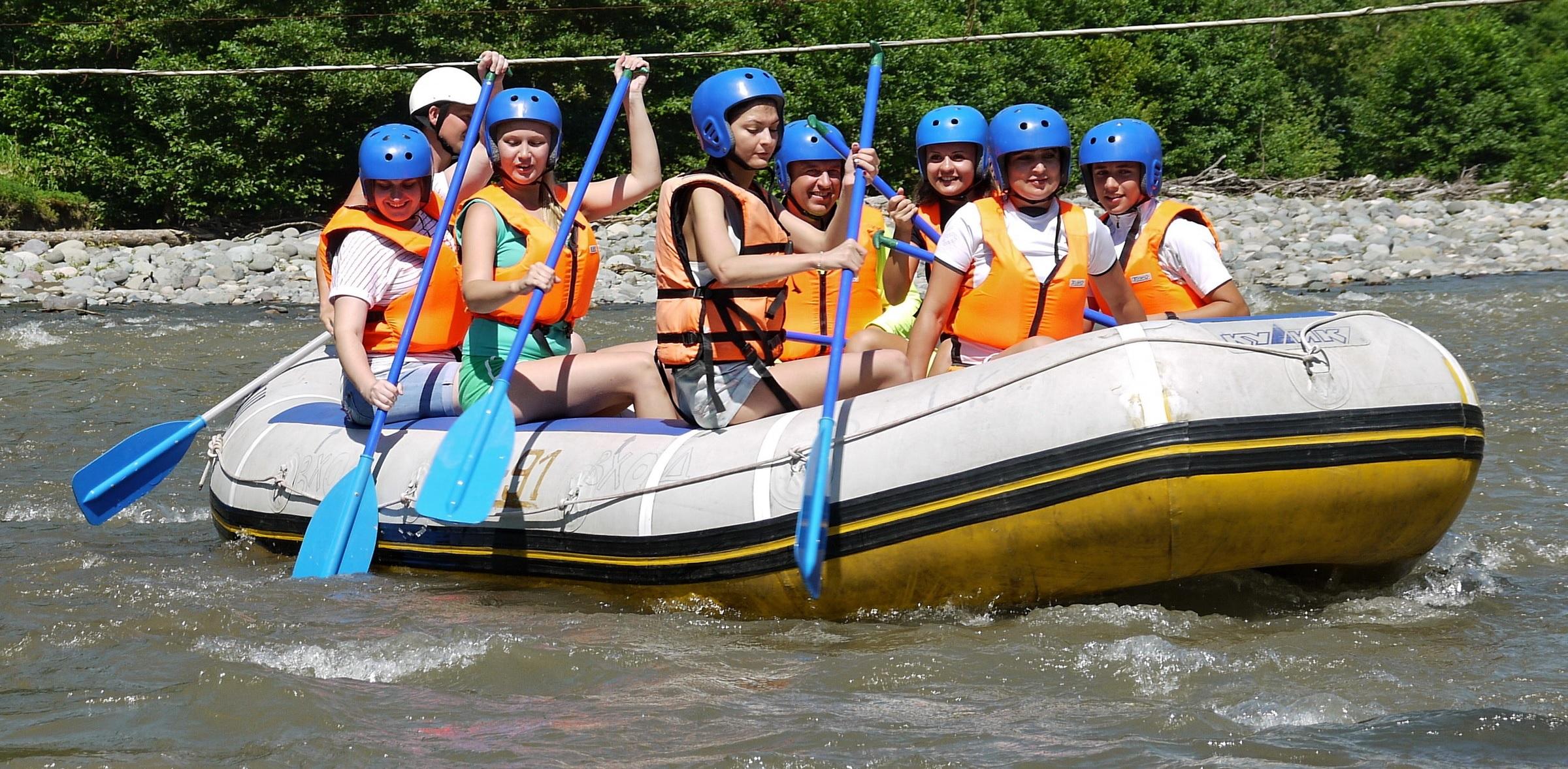 Рафтинг на реке Аджаристкали «Маршрут Махунцети»