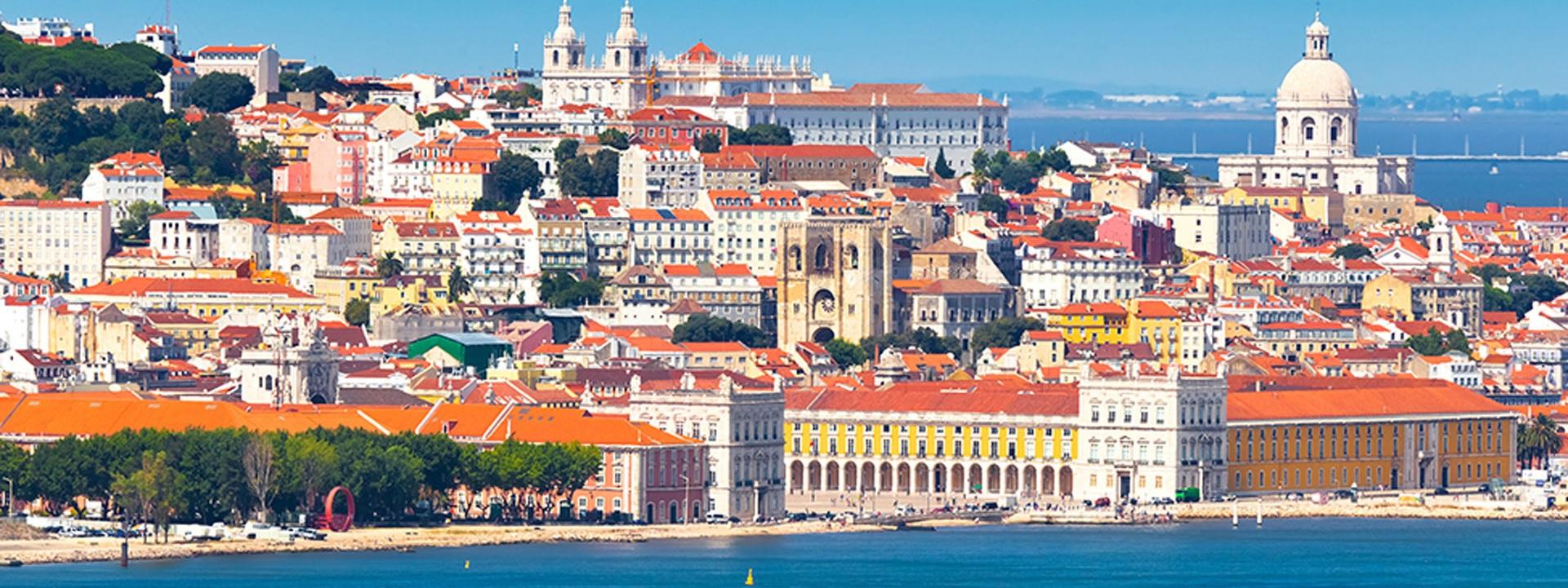 Лиссабон Люкс пешеходная с круизом по реке Тежу