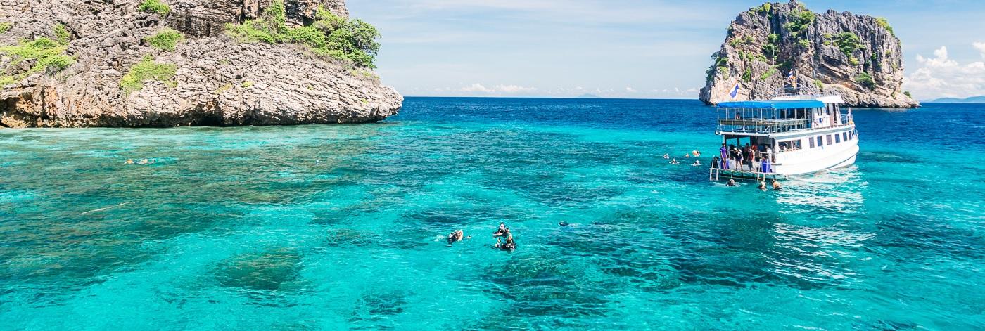 Острова Ко Рок и Ко Ха (1 или 2 дня)