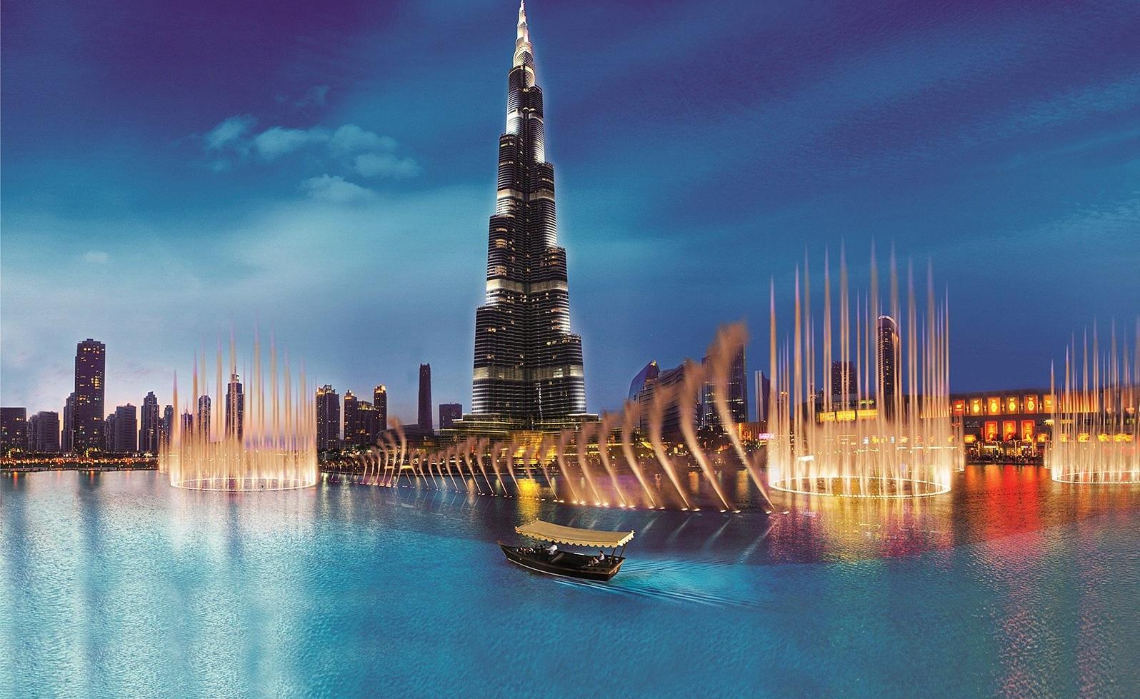 Современный Дубай (обзорная)