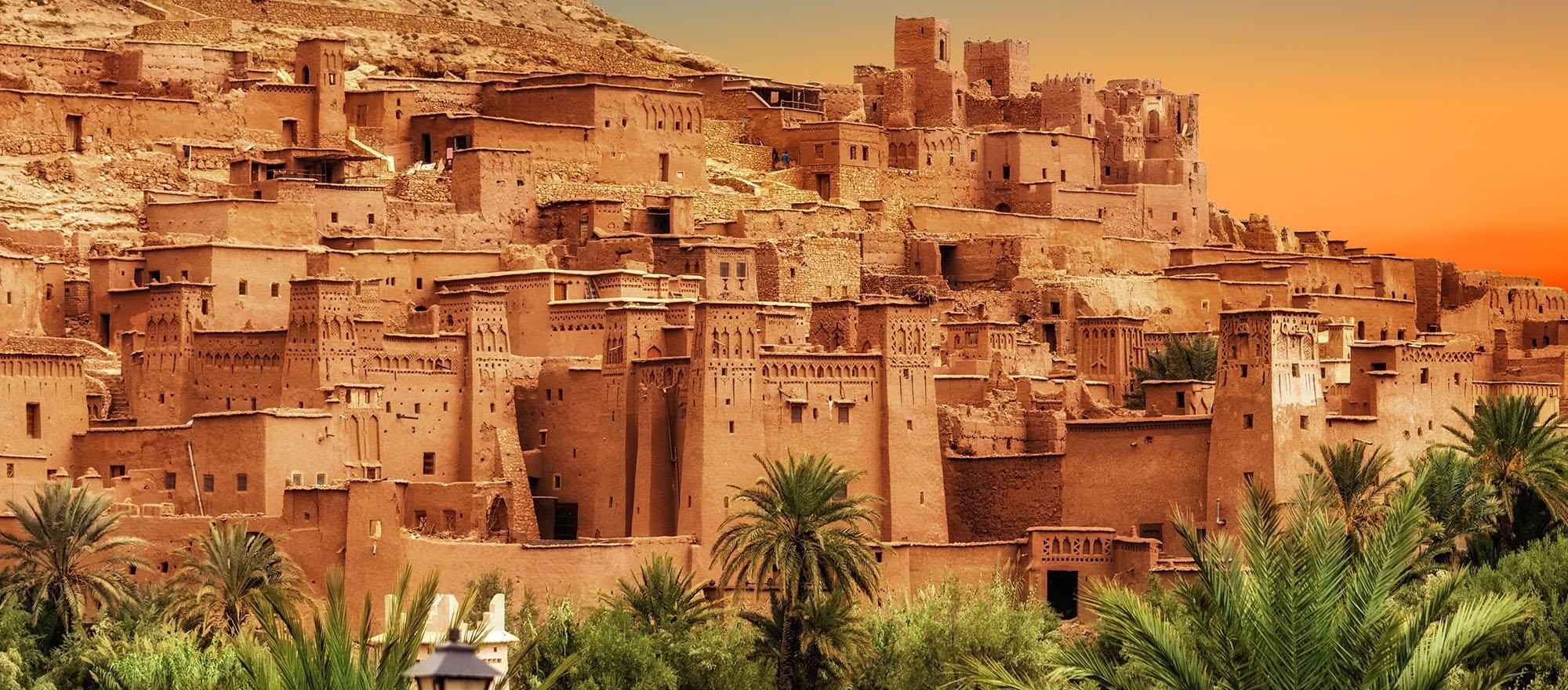 Экскурсия в город Уарзазат + крепость Айт-Бен-Хадду