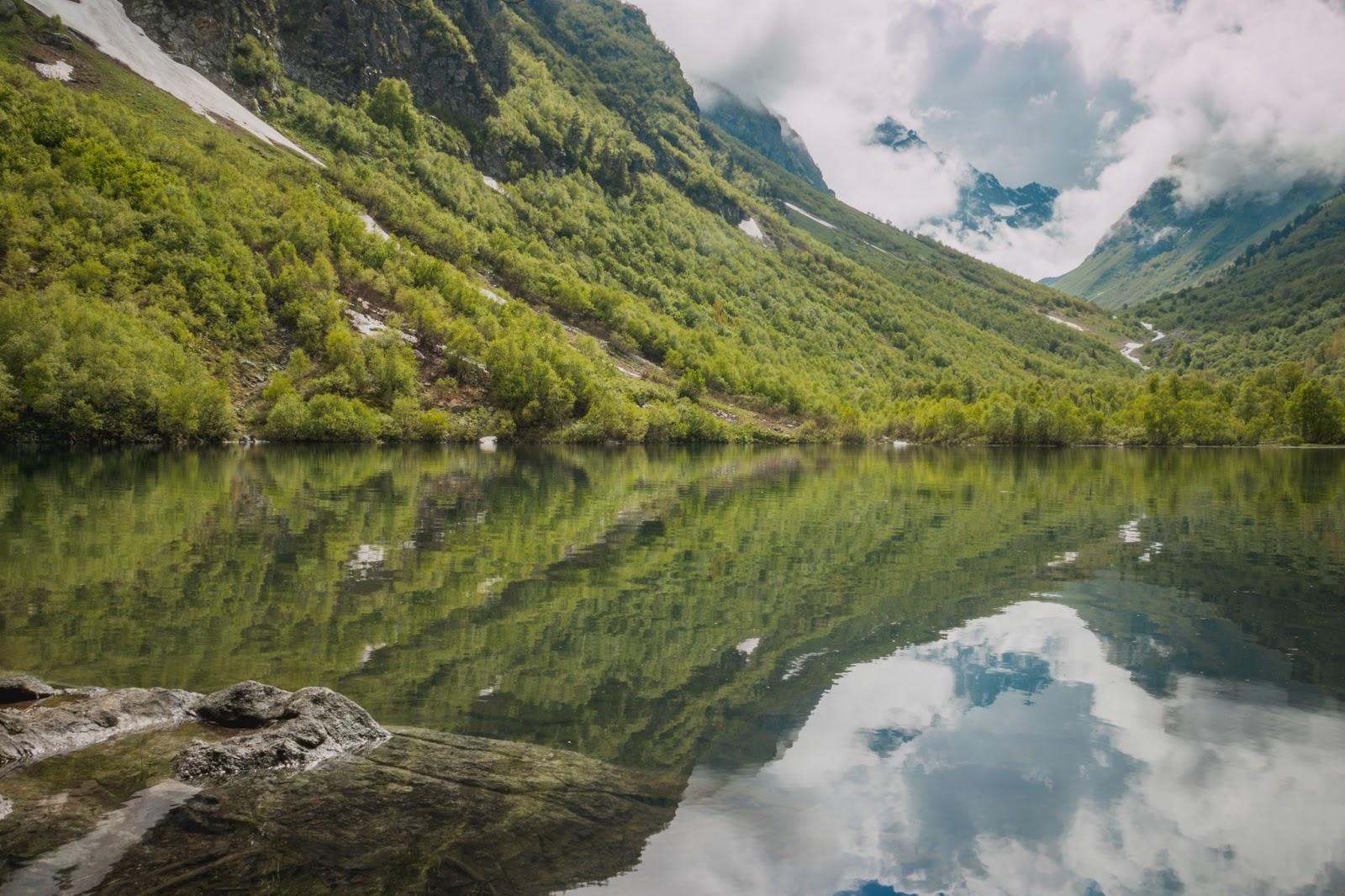 Домбай: Бадукские озера