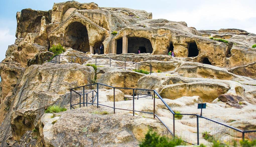 Пещерный город Уплисцихе + Гори