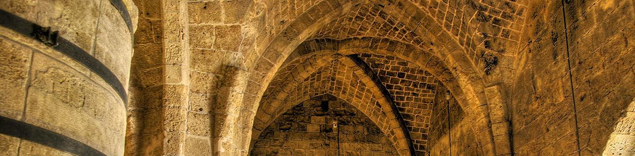 Подземный Акко. Залы крестоносцев. Бахаи в Хайфе