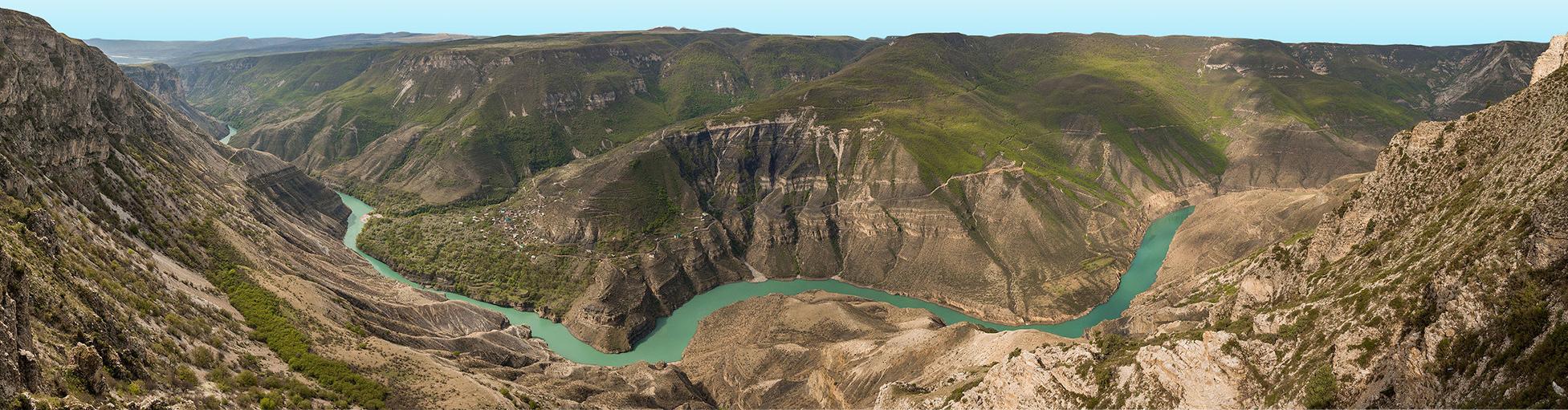 Сулакский каньон с прогулкой на катере