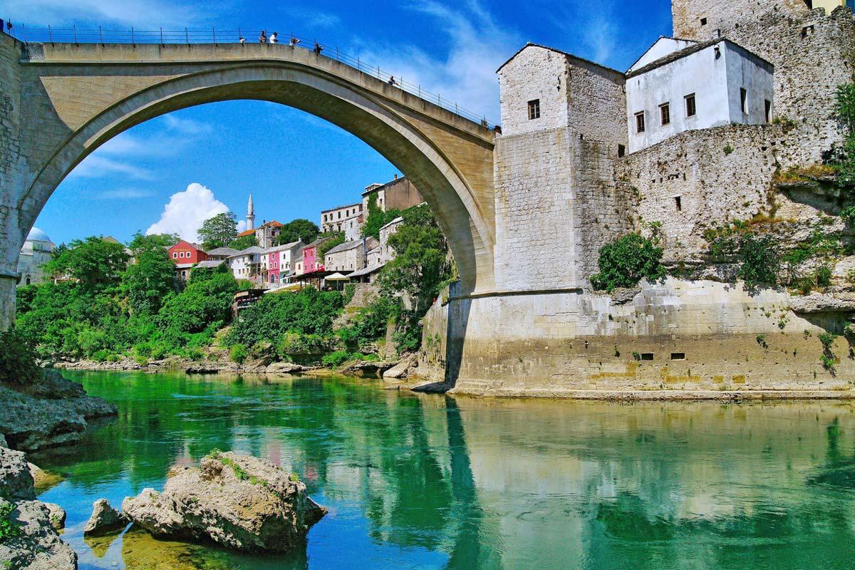 Босния и Герцеговина, Мостар + Водопады