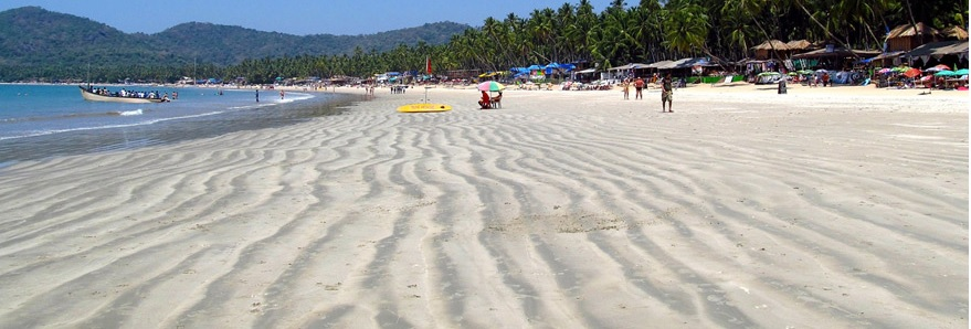 Отдых на пляжах Палолем, Агонда и старинный форт Кабо де Рама