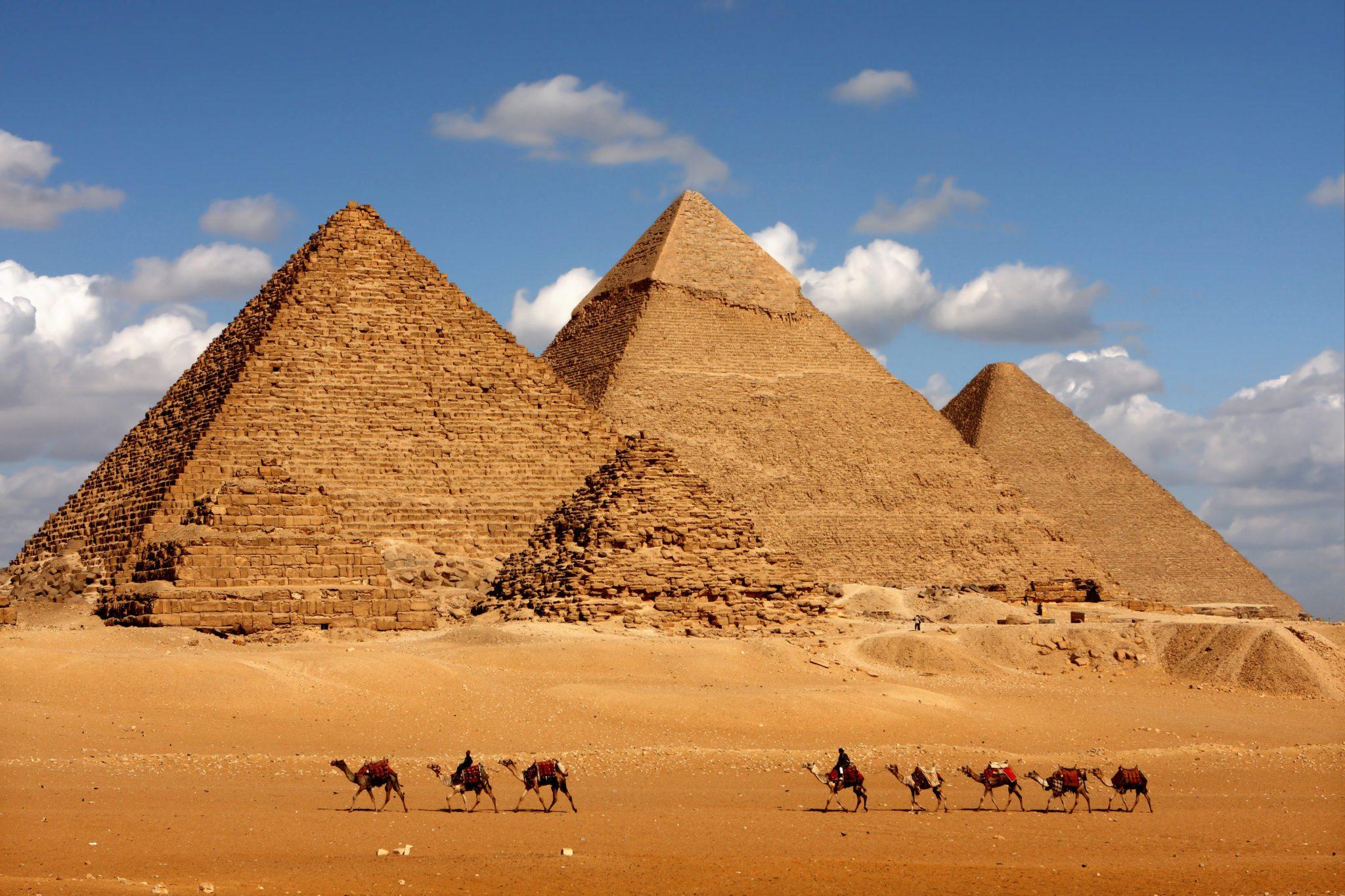 Каир на самолете