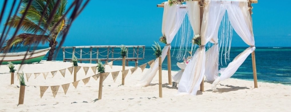 Свадебная церемония на пляже Амор