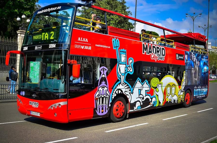 Тур на двухэтажном автобусе