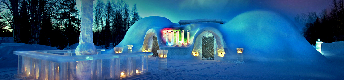 Экскурсия в снежный отель с ужином