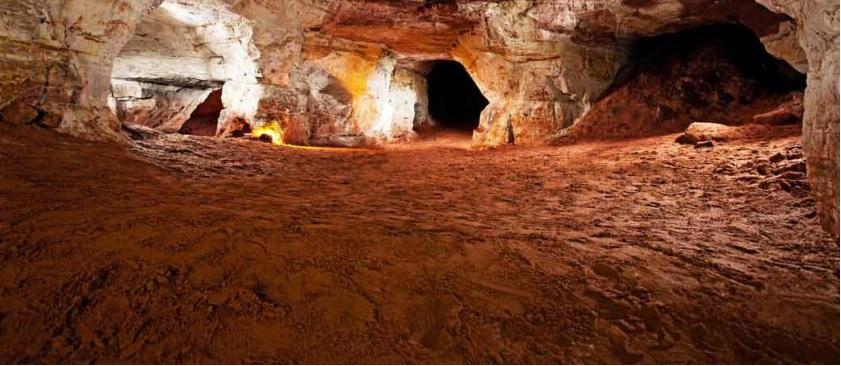 Саблинские пещеры: подземный лабиринт