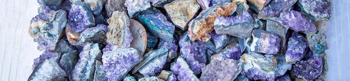 Аметистовый рудник в Луосто