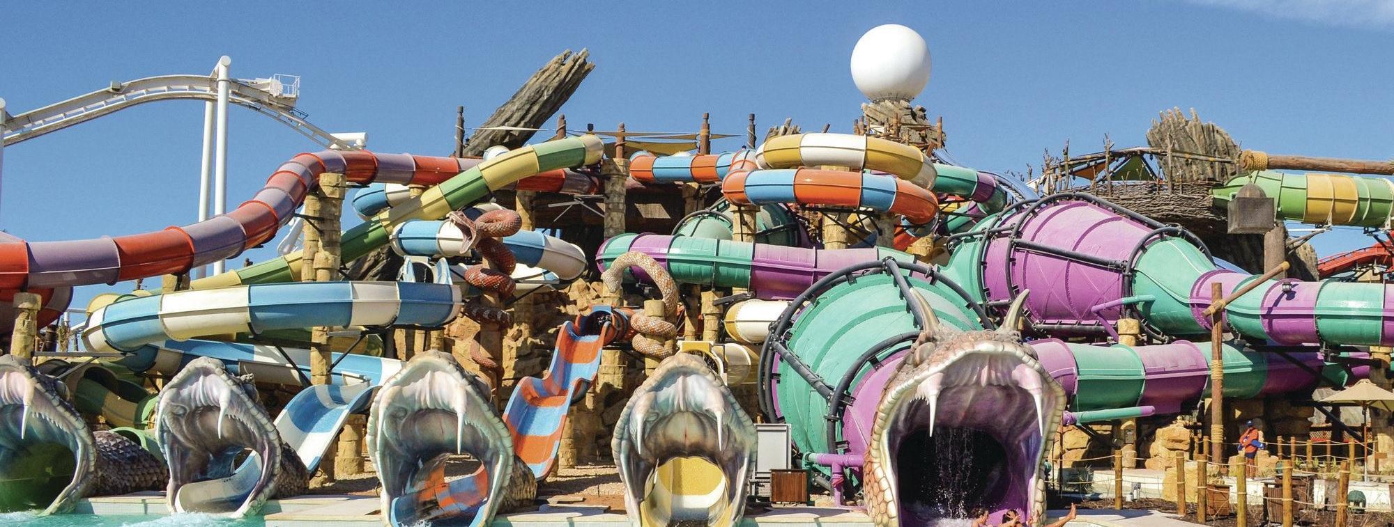 Абу-Даби: Мечеть шейха Зайда + аквапарк Yas Waterworld