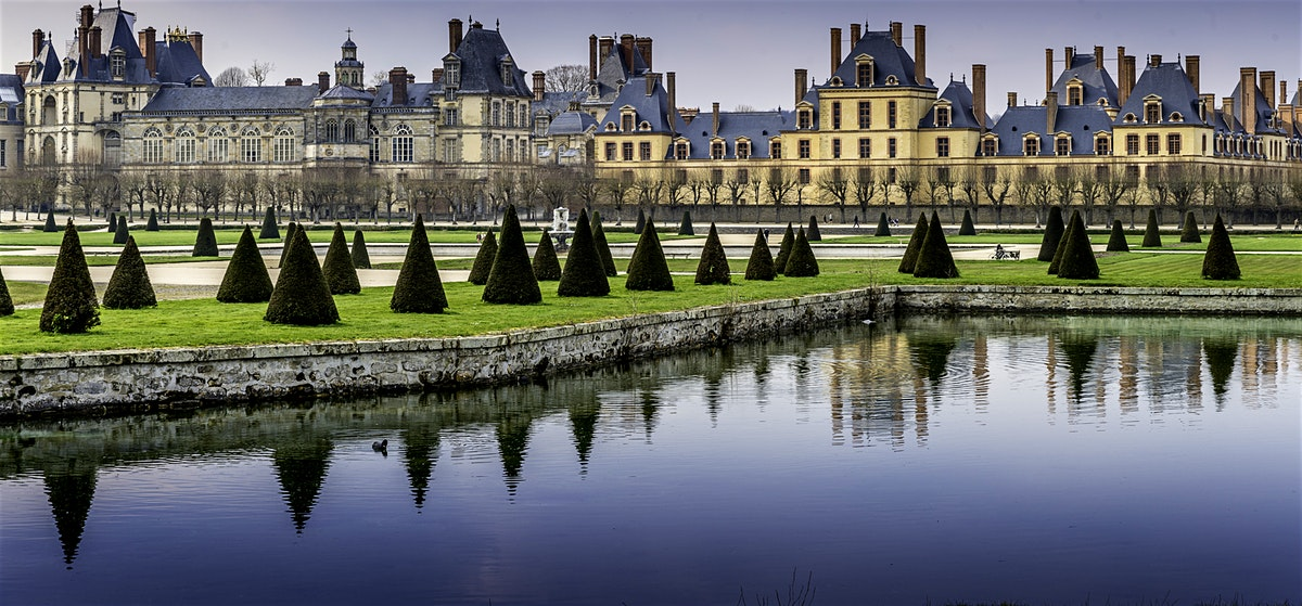 Королевский дворец Фонтенбло