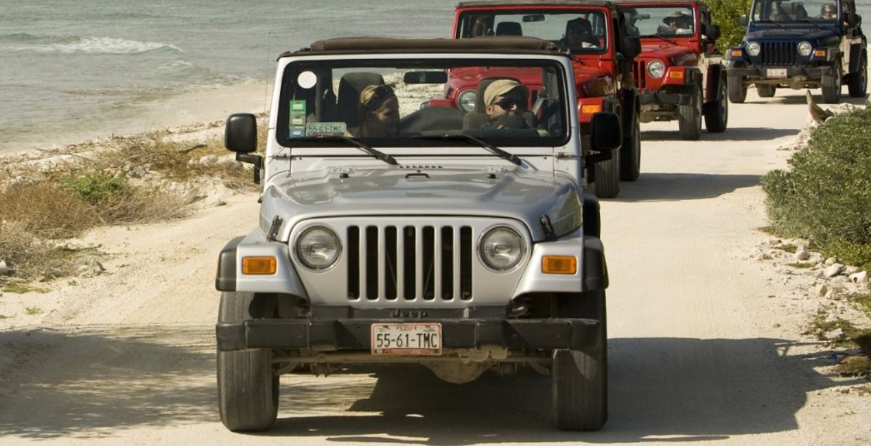 Джип тур по острову Козумель
