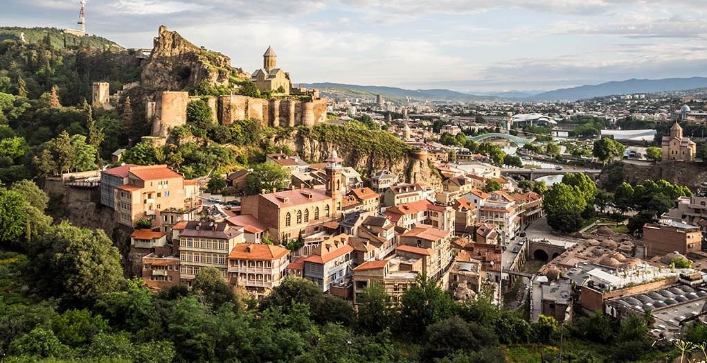 Знакомство с очаровательным Тбилиси
