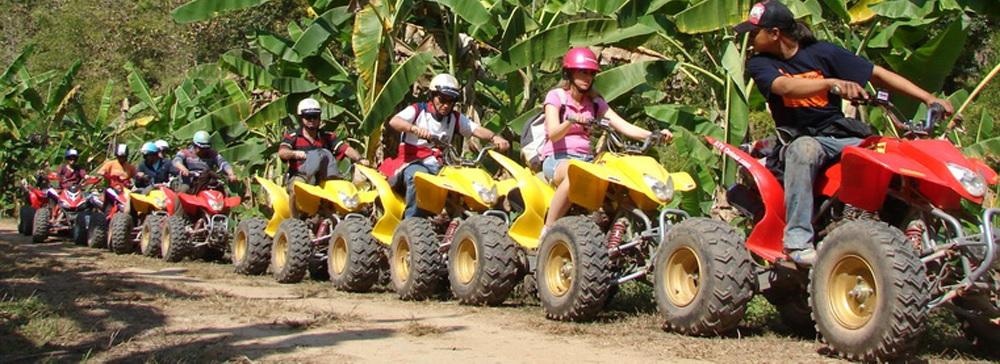 Сафари на квадроциклах в Паттайе