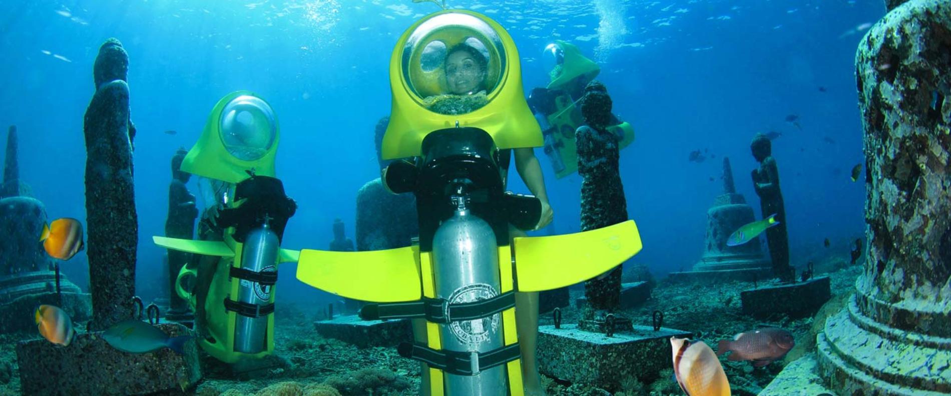 Подводные мотоциклы на Пхукете