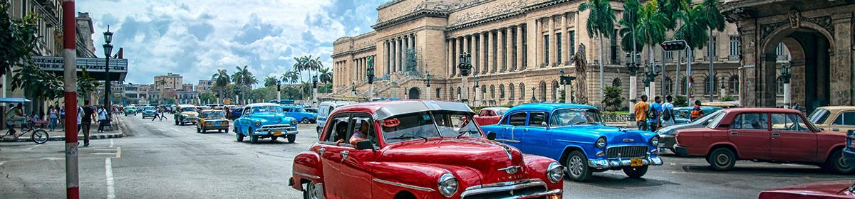 По следам Гаванской мафии на классических американских автомобилях