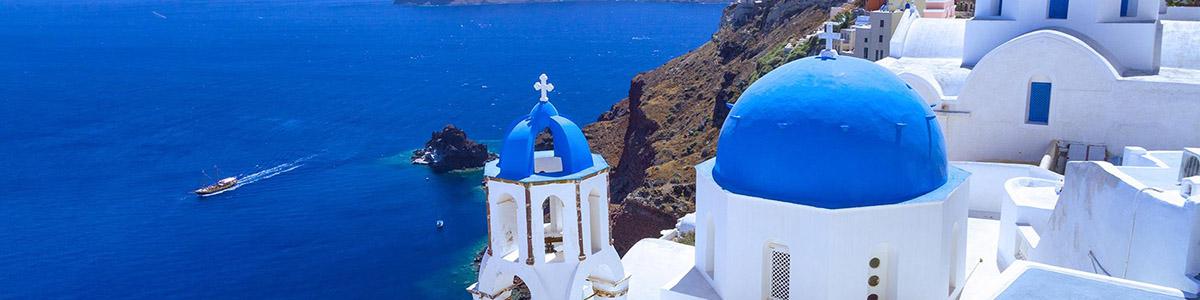 Остров Санторини (1 день) на самом быстром корабле Santorini Palace