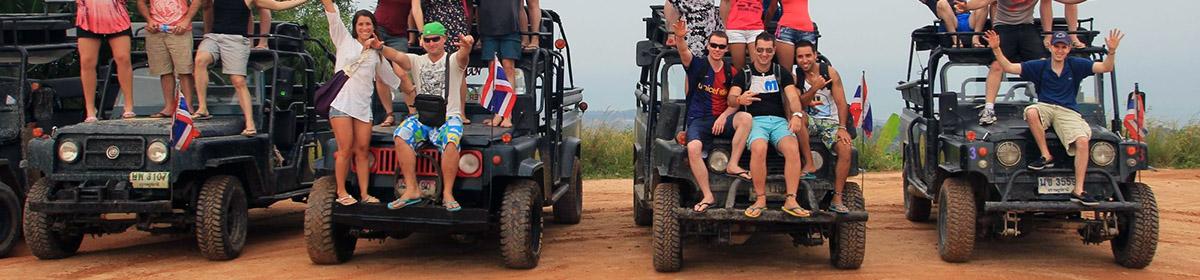 Джип-сафари по джунглям острова Самуи