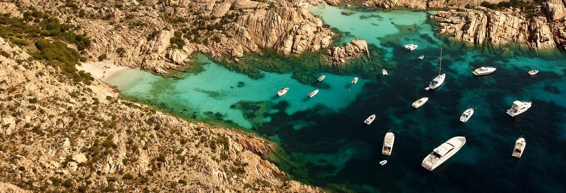 Морская прогулка по островам архипелага Ла Маддалена и Корсике