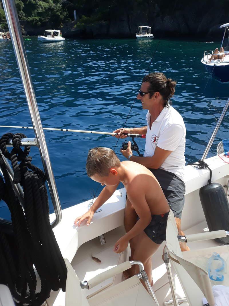 Рыбалка в Портофино с яхты