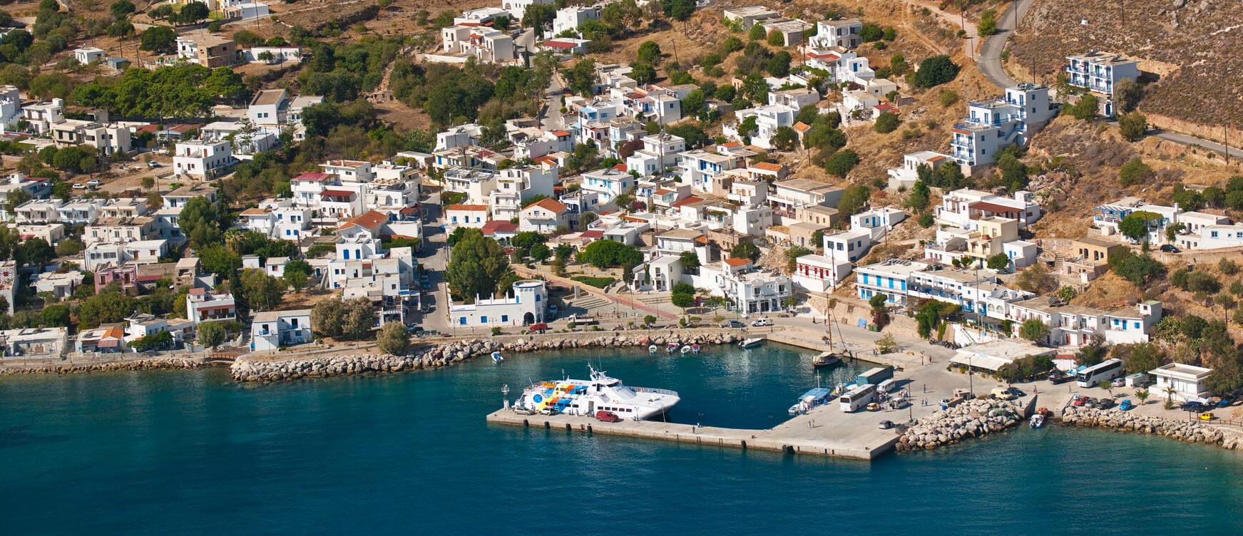 Остров Тилос и Святой Пантелеймон