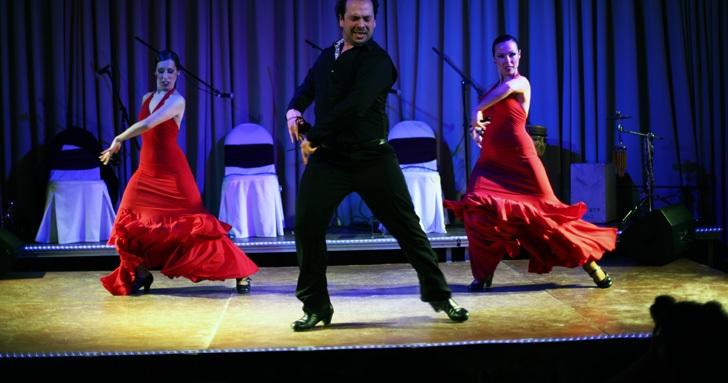 """Шоу фламенко """"Испанская кровь"""" в замке Вилафортуни"""