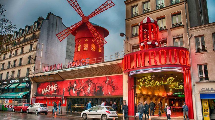 Вечерний Париж + «Мулен Руж»