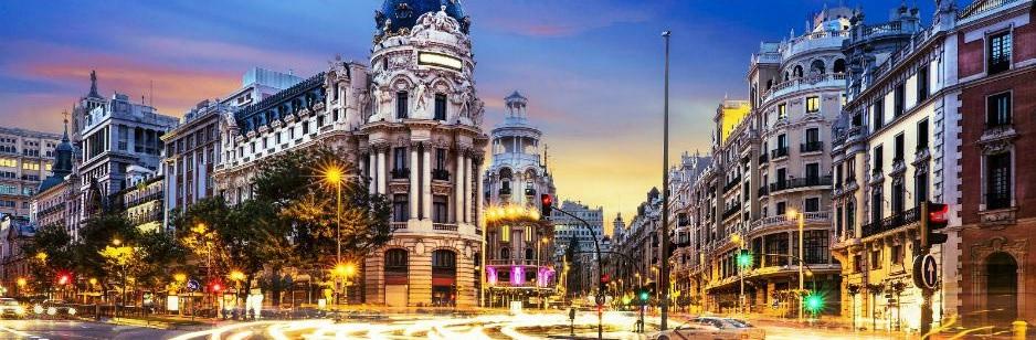 Барселона - Сарагоса - Мадрид