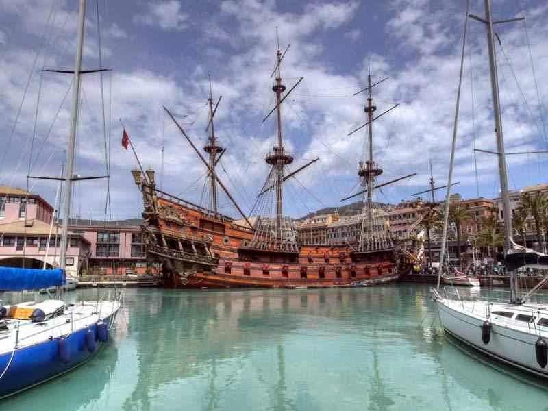 Средневековая Генуя